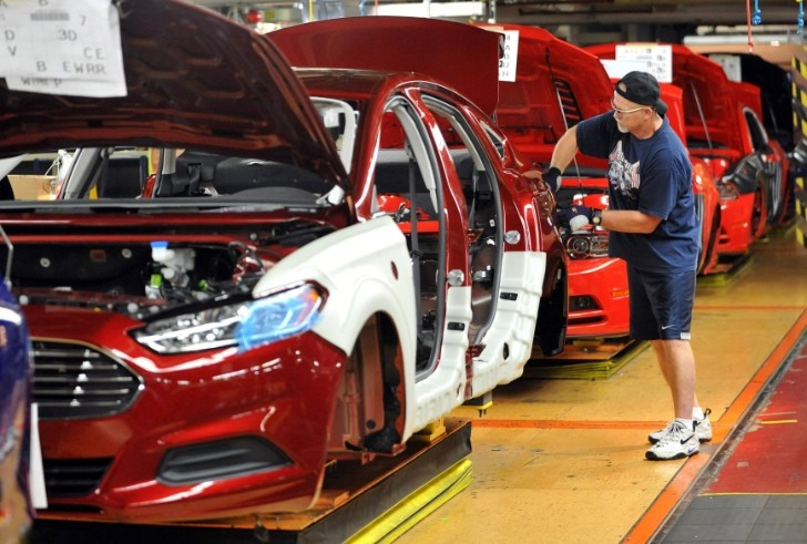 Flat Rock Assembly Plant Begins Ford Fusion Production