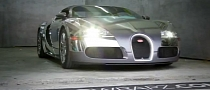Flo Rida Gets Chrome Wrapped Bugatti Veyron [Video]