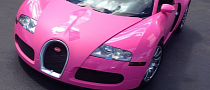 Flo Rida's Bugatti Is Now Pink