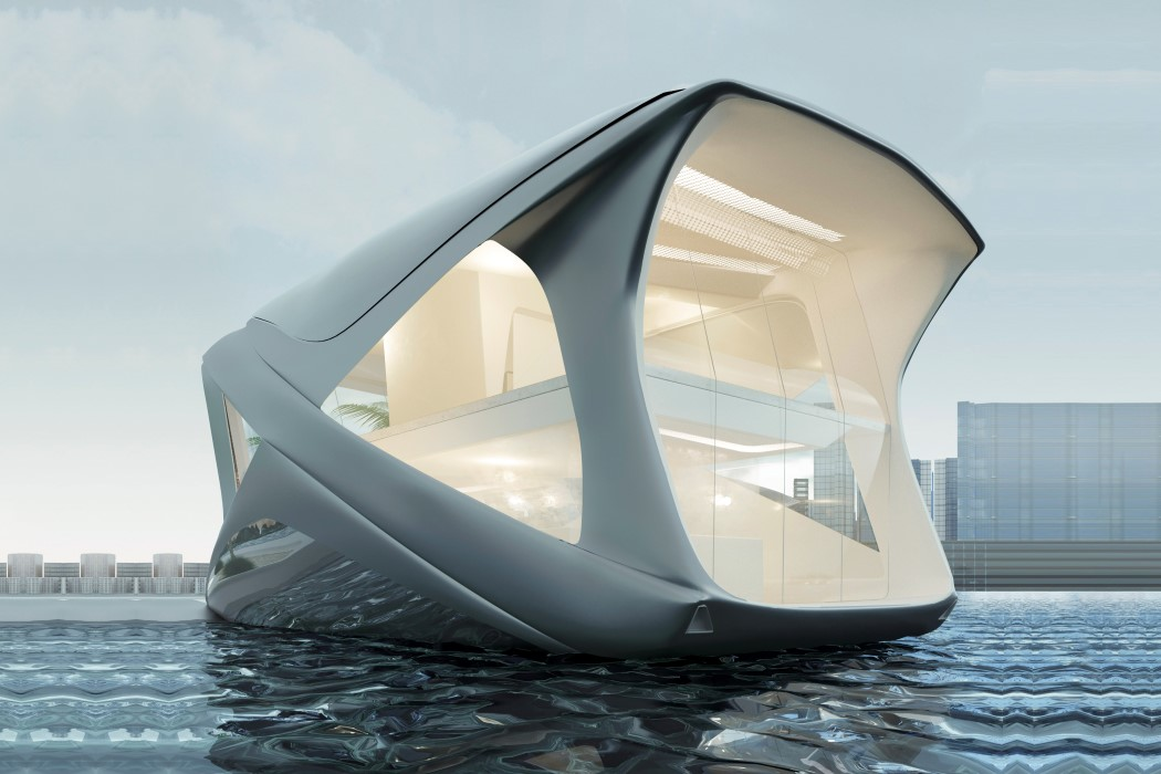 Floating House Yacht Ocean Community Imagines a Fancy But Sustainable Future