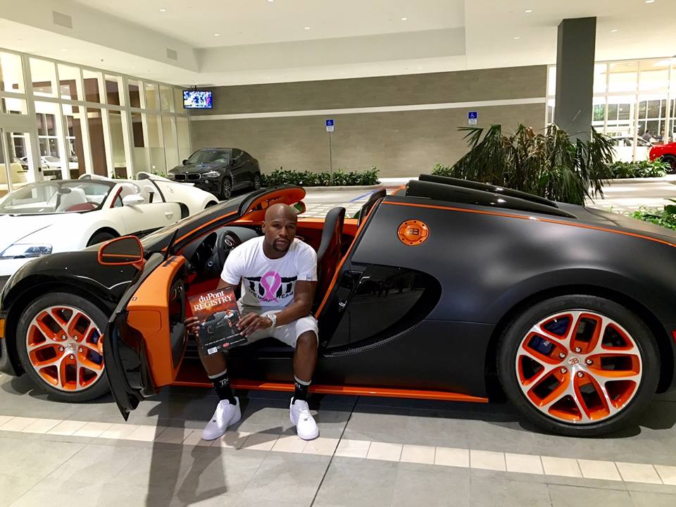floyd mayweather buys new bugatti veyron grand sport vitesse autoevolution. Black Bedroom Furniture Sets. Home Design Ideas