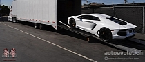 Floyd Mayweather Gets Lamborghini Aventador [Photo Gallery]