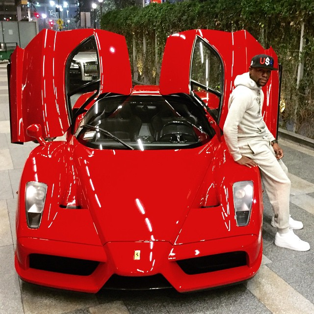 Floyd Mayweather Just Bought a Ferrari Enzo, Prior to Manny Pacquiao Fight