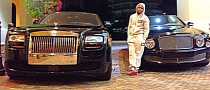 Floyd Mayweather Switches to Black Cars: Rolls-Royce and Bentley