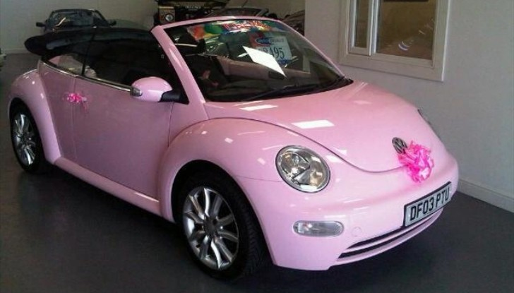 For £6,995, You Can Play Barbie in a Pink Beetle