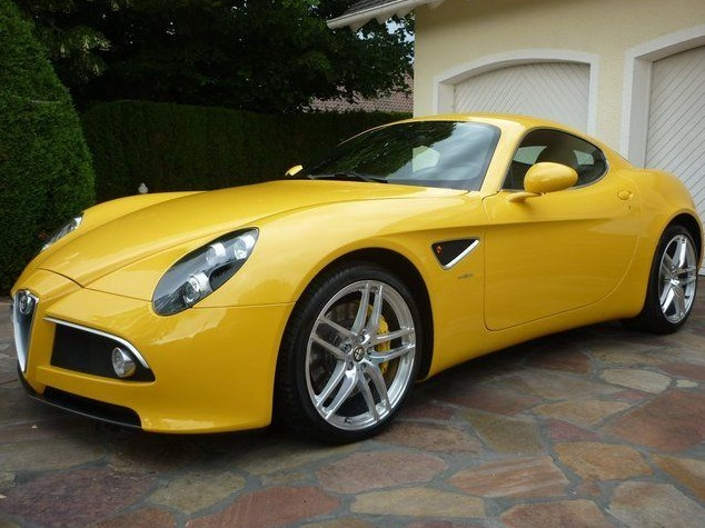 For Mercedes SL 63 AMG Money, You Can Buy an Alfa Romeo 8C ...