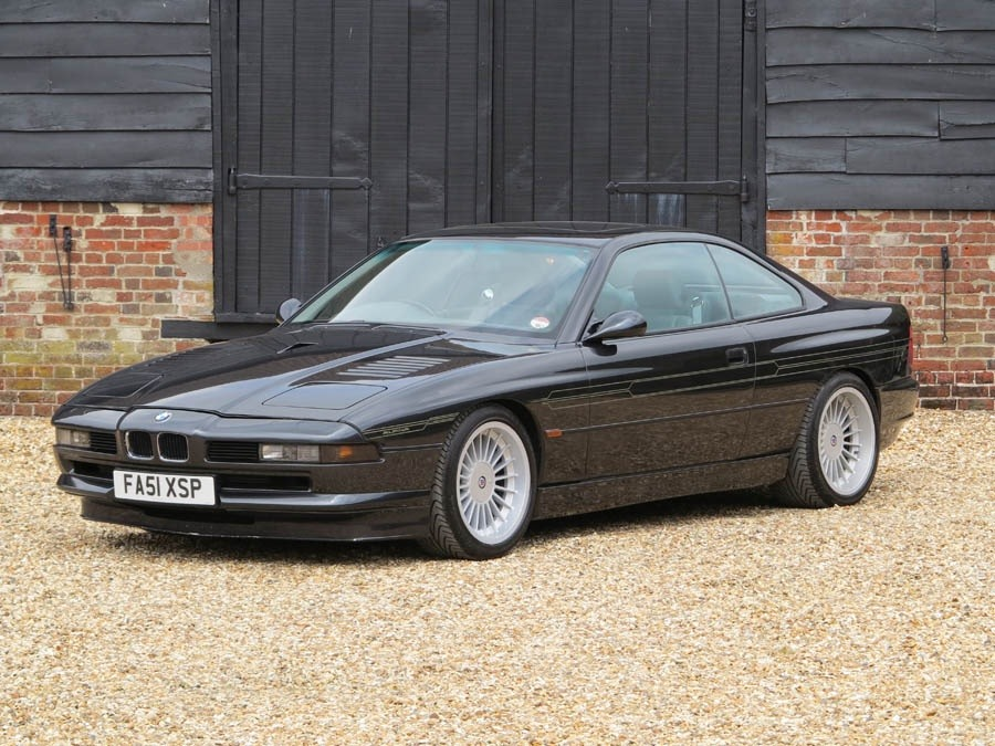 For Sale: One of Only Two RHD Alpina B12 Coupe Models with a Manual ...