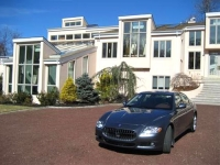 Nissequogue estate with Maserati Quattroporte
