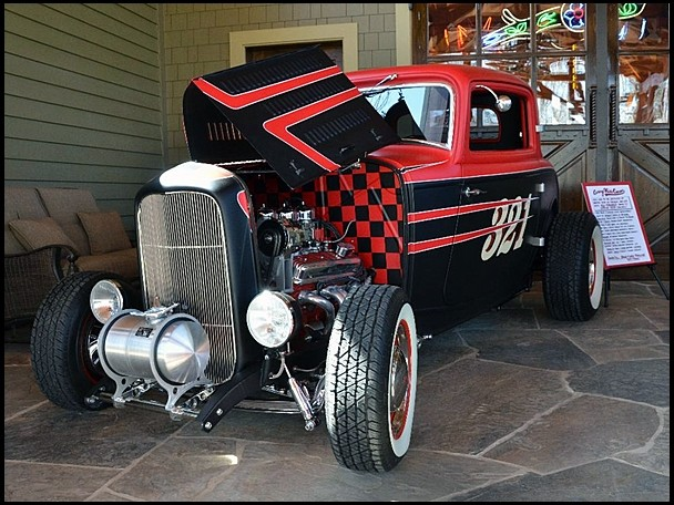 Ford 3 Window Coupe Hot Rod Auctioned for Charity - autoevolution
