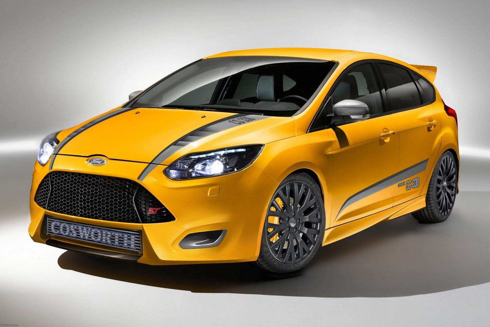 ford announces 5 custom focus st tuned cars for sema. Black Bedroom Furniture Sets. Home Design Ideas