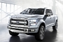 Ford Atlas Concept Unveiled, Previews Next F-150 [Photo Gallery] [Video]