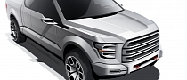 Ford Atlas Pickup Concept Development Unveiled [Photo Gallery]