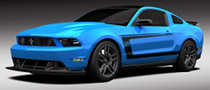 Ford Auctioning One-off Grabber Blue Mustang Boss for Charity