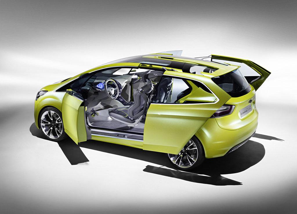 Ford B Max Concept Headed For Geneva Autoevolution
