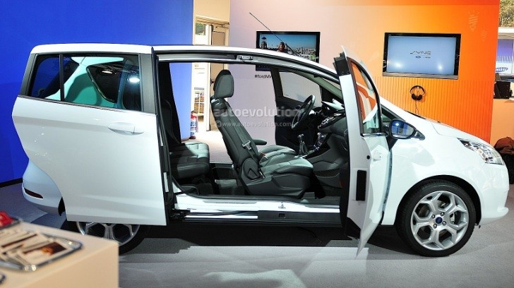 Ford B-MAX Debuts at 2012 Mobile World Congress [Live Photos]