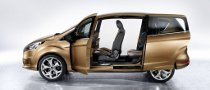 Ford B-MAX's Easy Access Door System Explained