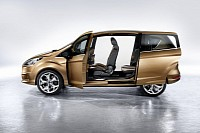 The Ford B-MAX concept was presented at the 2011 Geneva Motor Show