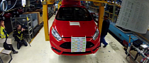 Ford Begins New Fiesta ST Production [Video]