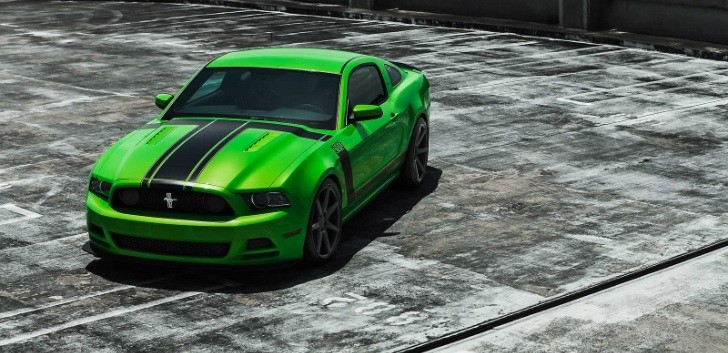 Ford Boss 302 Mustang on Custom Concave Wheels [Photo Gallery]