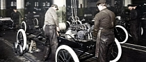Ford Celebrates 100th Anniversary of Henry Ford's Moving Assembly Line