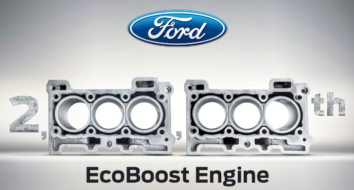 Ford Celebrates Production of 2 Millionth EcoBoost Engine