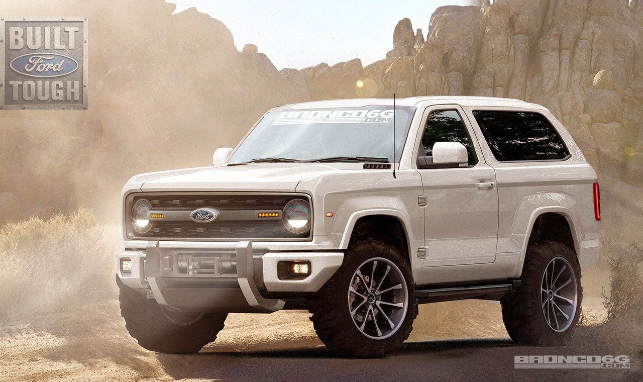 Ford Introduces City of Tomorrow as Ranger & Bronco Return