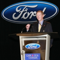 Ford's CEO Alan Mulally
