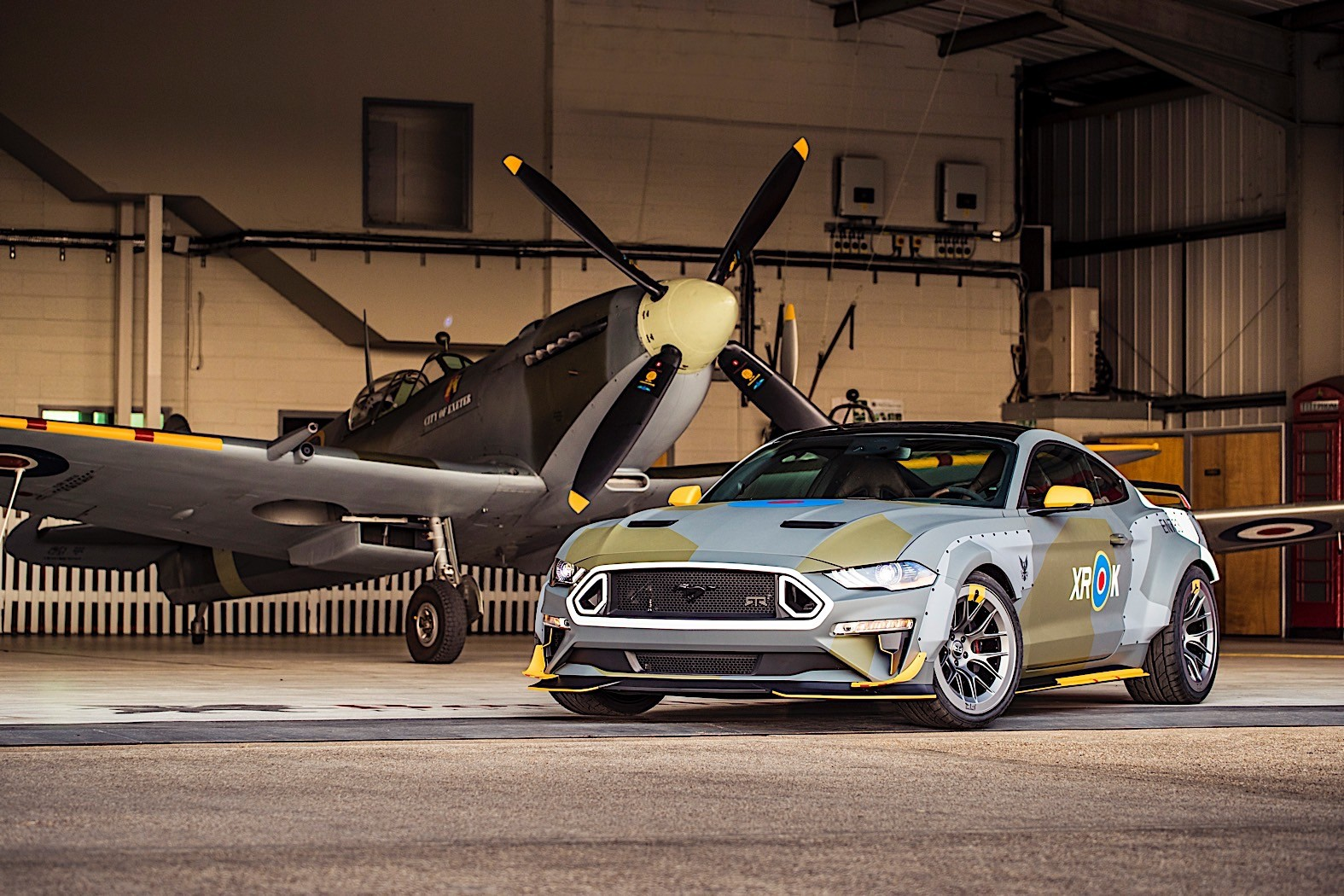 Ford eagle squadron mustang gt sold for 420000 owner gets keys