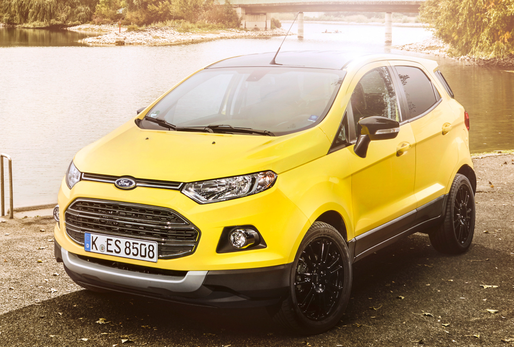 ford ecosport likely to join american suv lineup in 2017 autoevolution. Black Bedroom Furniture Sets. Home Design Ideas