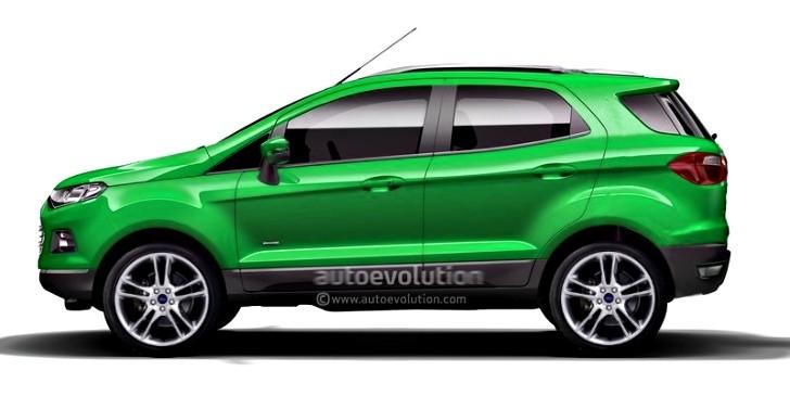 ford ecosport to gain seven seater variant autoevolution. Black Bedroom Furniture Sets. Home Design Ideas