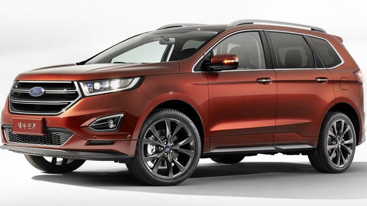 Ford Edge Seven-Seater Variant is a China-Only Affair - autoevolution