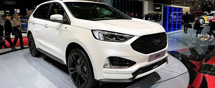 ford edge st-line is almost hot with twin-turbo diesel engine
