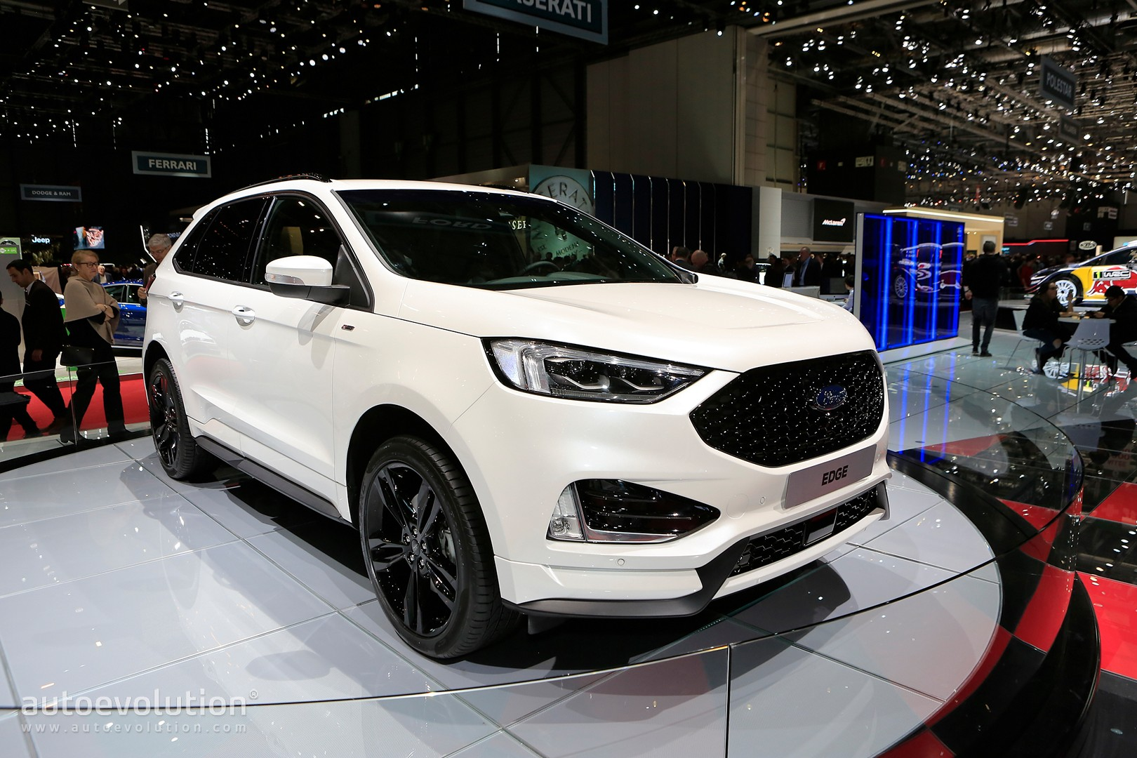 Ford Edge St Line Is Almost Hot With Twin Turbosel Engine