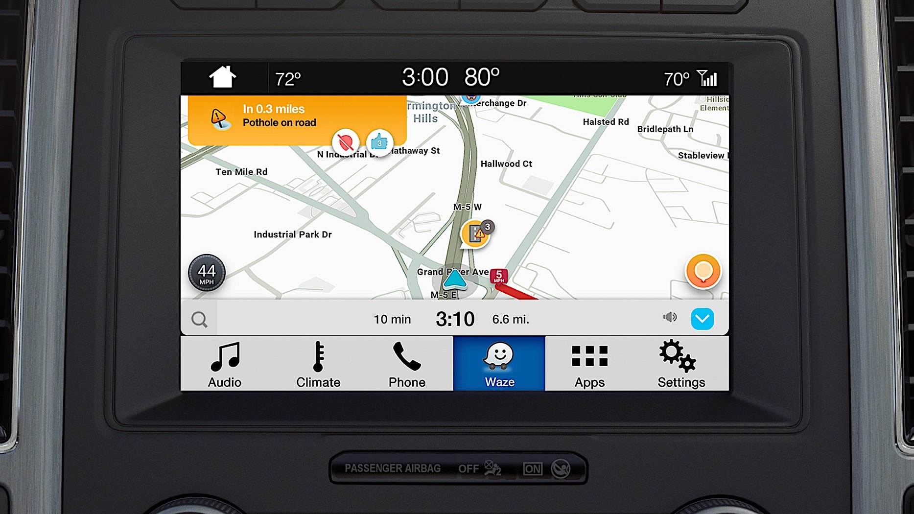 Ford launches Waze compatibility with Sync 3
