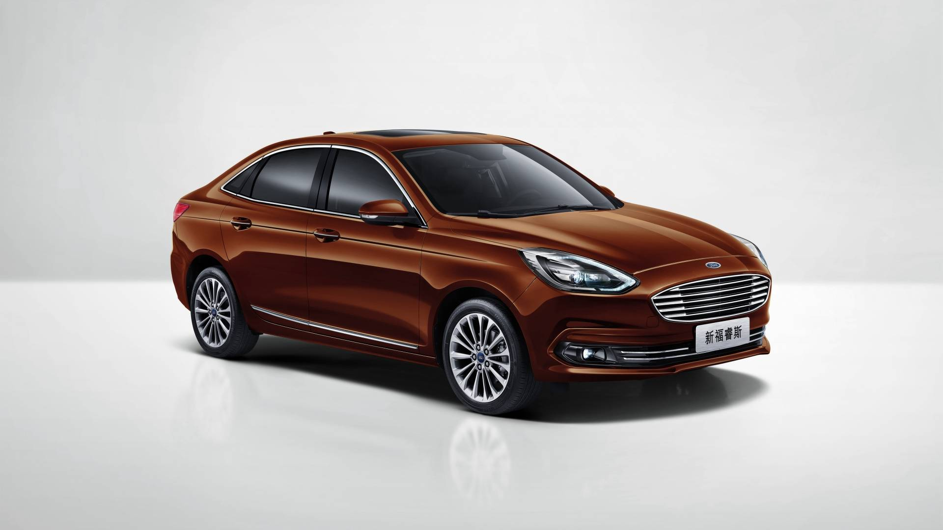 ford escort facelifted just in time for auto china 2018 autoevolution. Black Bedroom Furniture Sets. Home Design Ideas