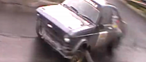 Ford Escort Rally Driver Pulls Save of the Year [Video]