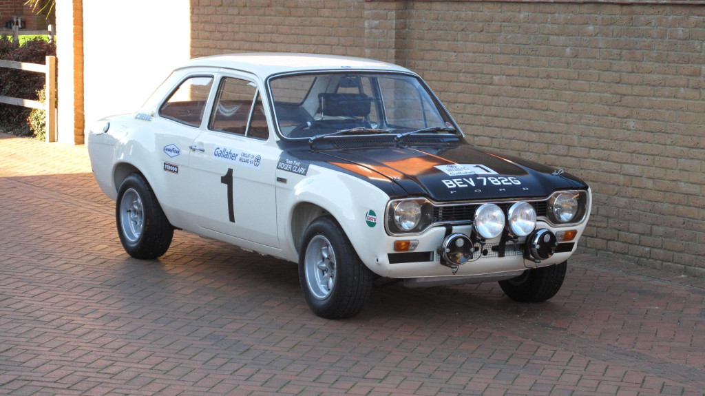Ford Escort Rally Legend to Be Auctioned - autoevolution