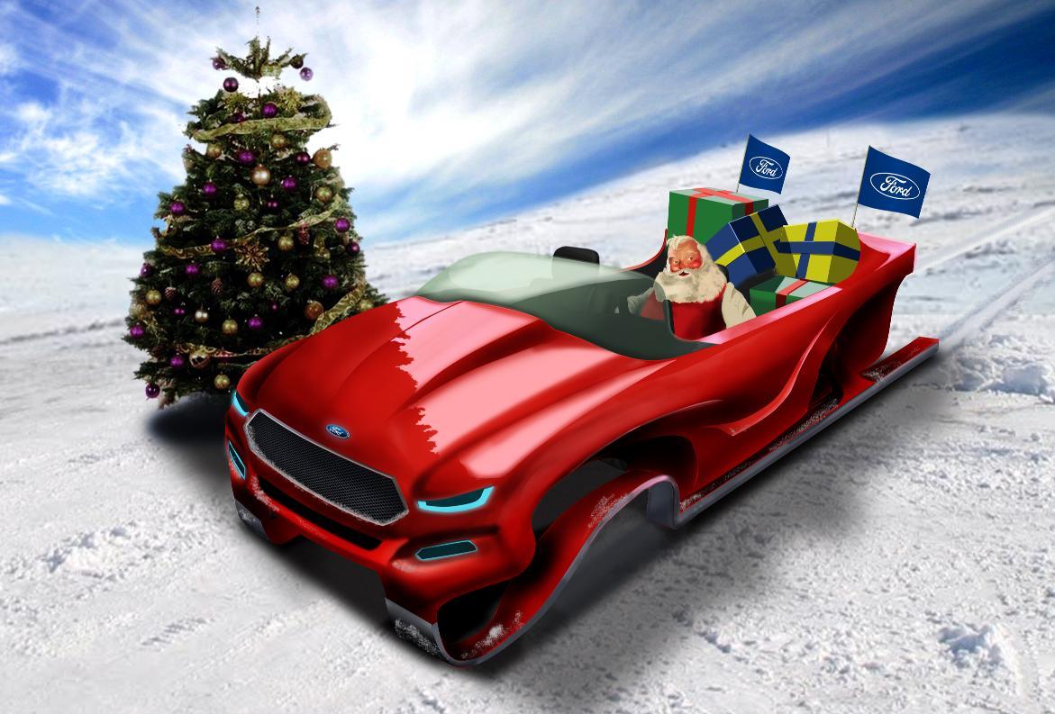 Ford Evos Santa Sleigh Concept