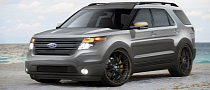Ford Explorer 2011 SEMA Offensive Launched