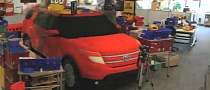 Ford Explorer Reinvented in LEGO Bricks [Video]
