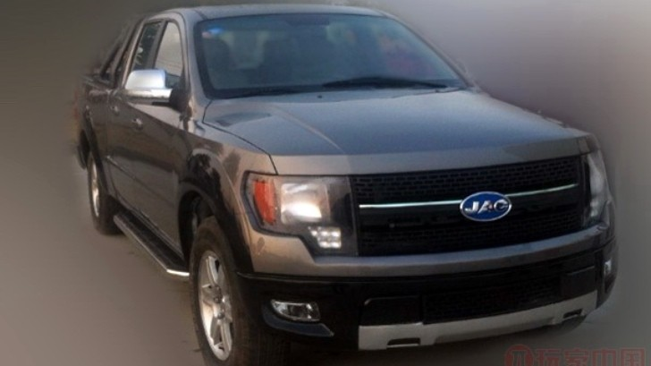 Ford F-150 Gets Chinese Replica: JAC 4R3