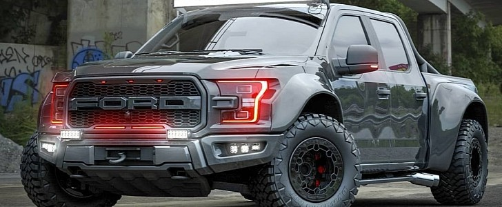 Widebody Ford F-150 Raptor
