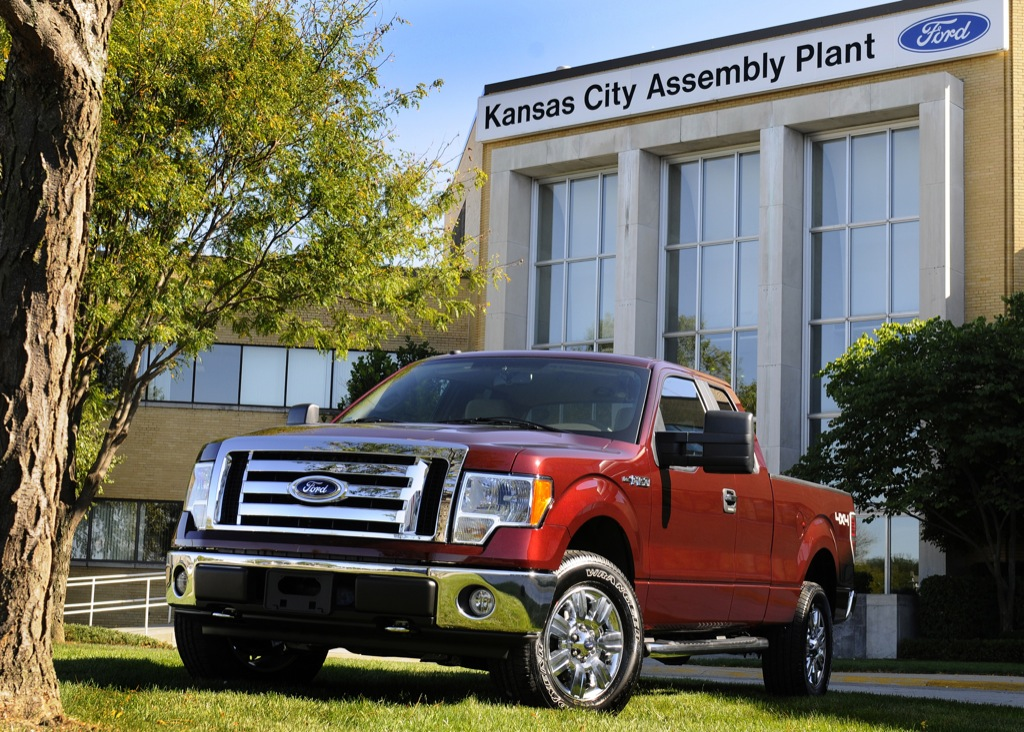 Ford f 150 the best in its class autoevolution for Ford motor company kansas city mo