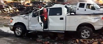 Ford F-150 Survives Fire, Drives Away: Built Tough [Video]