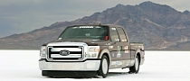 Ford F-250 Super Duty Breaks Two Speed Records