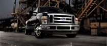 Ford F-450 and F-550, Available with CNG and LPG