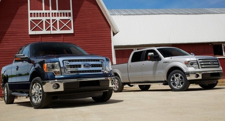Ford F-Series Tops US Sales Charts for 2012