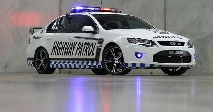 Ford Falcon GT Becomes the Most Powerful Police Car in Australia