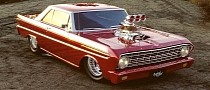 """Ford Falcon """"Super Sprint"""" Has a Supercharger for Days"""