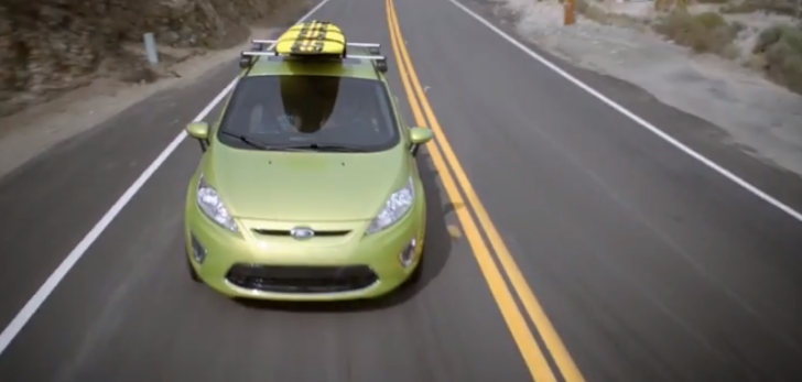 Ford Fiesta Commercial: The Surfer Trailer [Video]